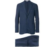 Zweiteiliger Anzug mit geradem Schnitt