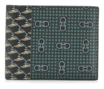 Portemonnaie mit grafischem Print