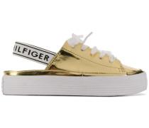 Sneakers mit Slingback-Riemen