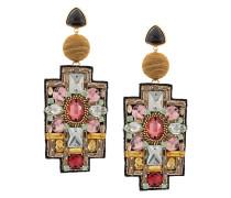 'Madonna' Ohrringe mit Kristallen