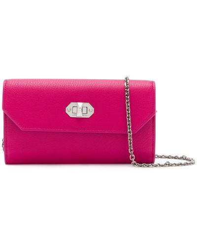 Alexander McQueen Damen Portemonnaie mit Kettendetail Beliebte Online-Verkauf Billig Verkauf 100% Garantiert MUs01QFPD