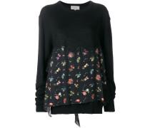 'June' Pullover mit Blumen-Print