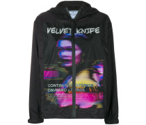 'Velvet Knife' Windbreaker