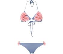 Shayna floral applique bikini