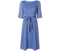 'Fanning' Kleid mit Schnürung