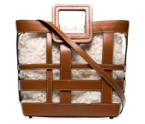'Shirley' Shearling-Handtasche