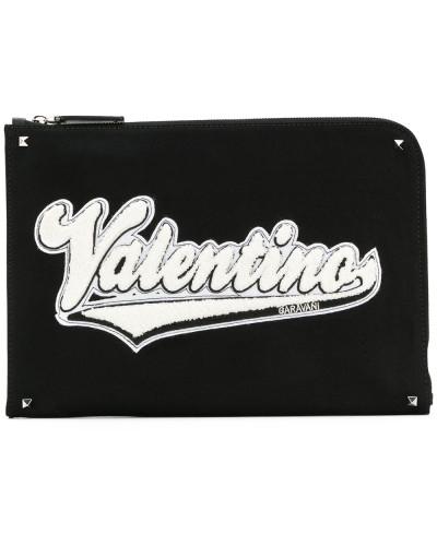 Valentino Herren Garavani 'Rockstud' Laptop-Hülle Bester Verkauf Zum Verkauf r9AbLw3p