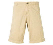 zip fastened shorts