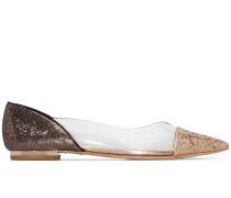 'Daria' Ballerinas mit Glitter