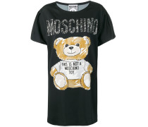 T-Shirtkleid mit Teddy