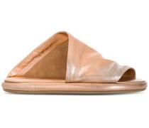 Flatform-Sandalen