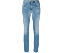 'Summer' Cropped-Jeans