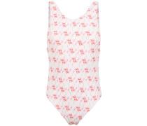 Badeanzug mit Flamingo-Print