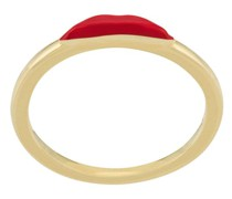 Ring im Lippen-Design
