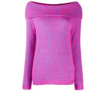 Schulterfreies Sweatshirt