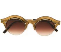 gradient-tinted round sunglasses