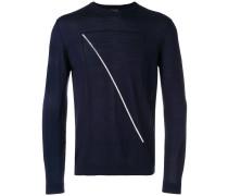 Pullover mit kontrastierender Linie