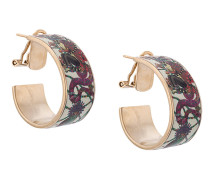 decorative plated earring