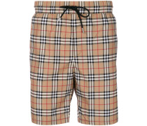 Vintage check swim shorts