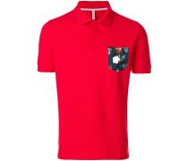 Poloshirt mit bedruckter Brusttasche