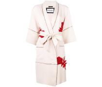 floral kimono coat