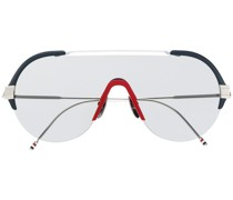 NAVY, WHITE, RED & SILVER SUNGLASSES