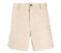 Shorts in Distressed-Optik