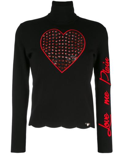 'Love Me' Rollkragenpullover