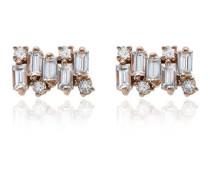 'Firework' Ohrringe mit Diamanten