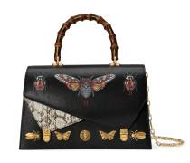 'Ottilia' Handtasche mit Lederhenkel
