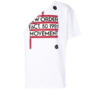 T-Shirt mit einschultrigem Design