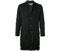 Mantel mit Knittereffekt