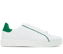 Sneakers mit Kontrastsaum