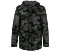Kapuzenjacke mit Camouflage-Print