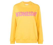 """Sweatshirt mit """"Wednesday""""-Patch"""