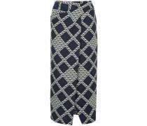 Allegra diamond print skirt