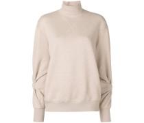Pullover mit geknoteten Ärmeln