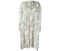'Dillon' Kleid mit Schlangenleder-Print