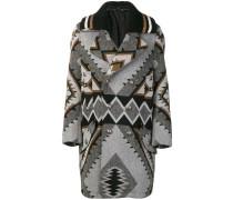 Mantel mit Navajo-Muster