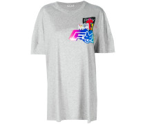 T-Shirt mit Logo-Patches