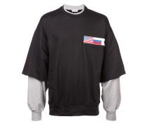 Zweilagiges Sweatshirt