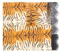 Schal mit Tigermuster