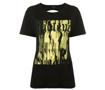 T-Shirt mit Cut-Out