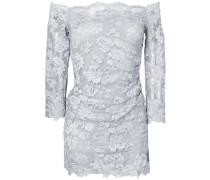 off-shoulder floral lace top