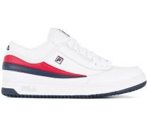 Sneakers mit kontrastfarbigen Einsätzen