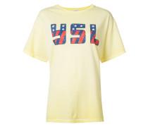 T-Shirt mit YSL-Print