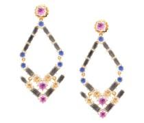 Caterina Trapezoid chandelier earrings