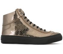 'Argyle' High-Top-Sneakers