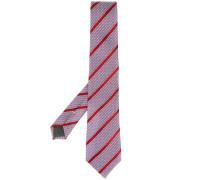 Gestreifte Krawatte