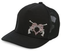 embellished heart hat